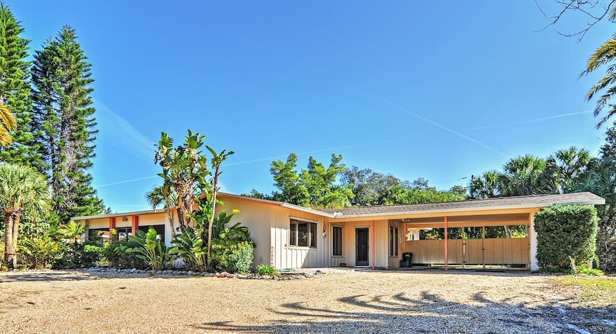 3BR Sarasota Home on Siesta Key - Sarasota - Huis