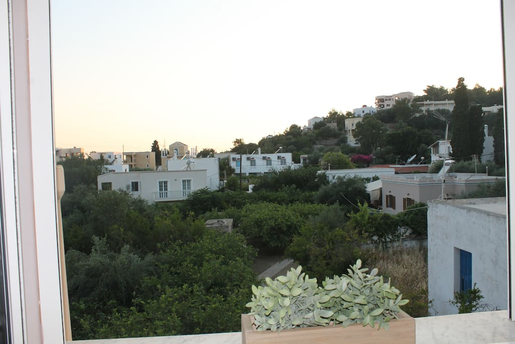 View from bedroom 2