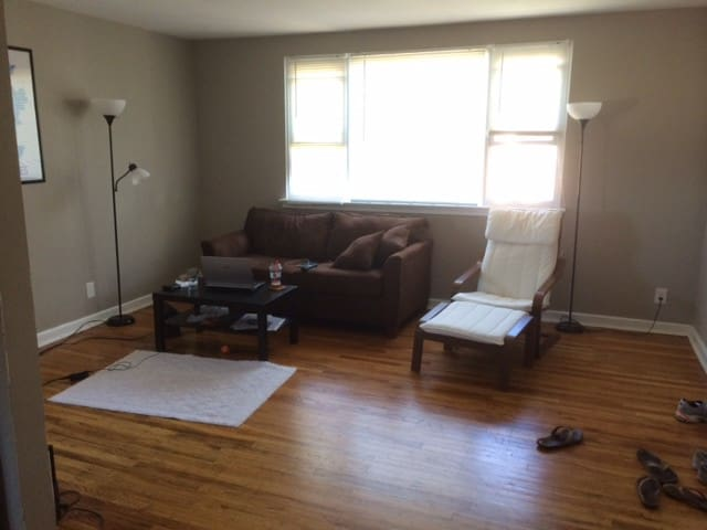 Quiet apartment in suburban North Philly
