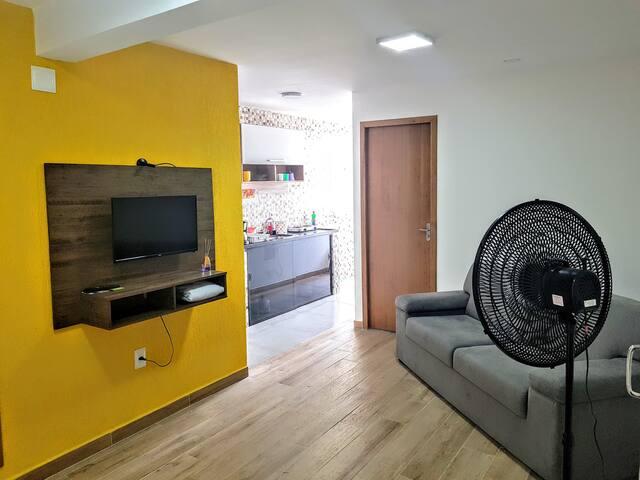 Apartamento Aconchegante , Região Republica SP