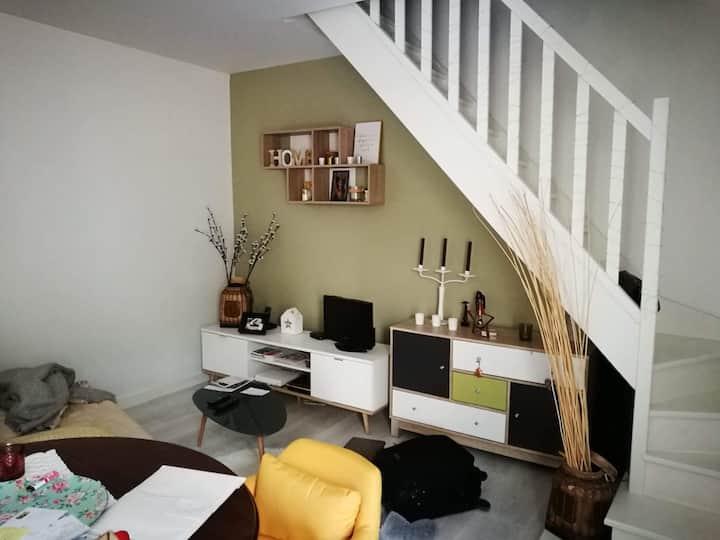Appartement duplex - RDJ terrasse