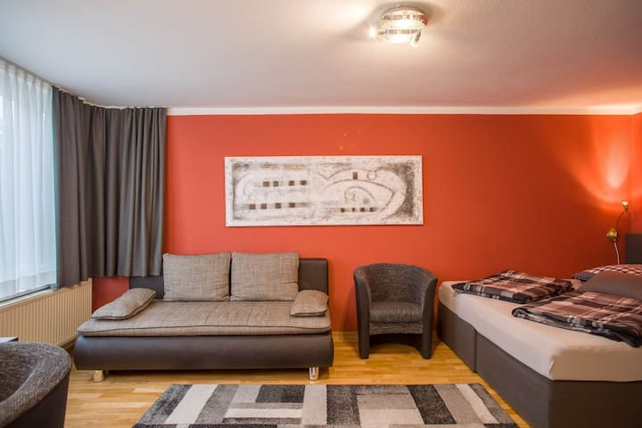 """Central Apartment """"Stadtwohnung"""" Close to the Lake with Wi-Fi; Pets Allowed"""