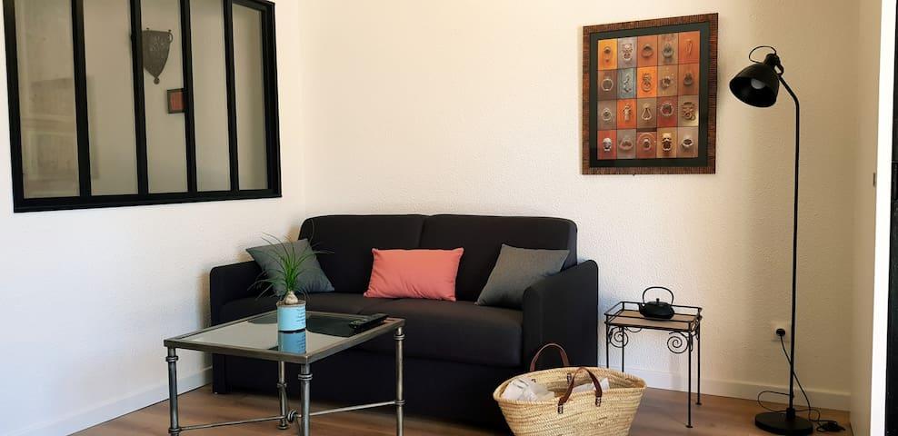 Appartement cosy avec belle terrasse au soleil