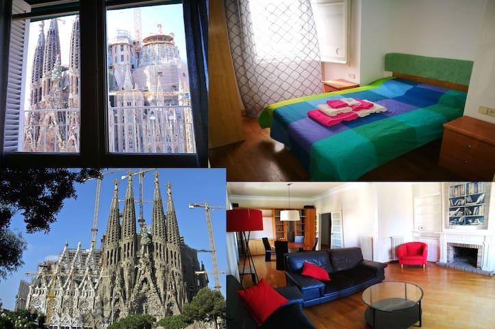 Comfy Room in Magical Barcelona