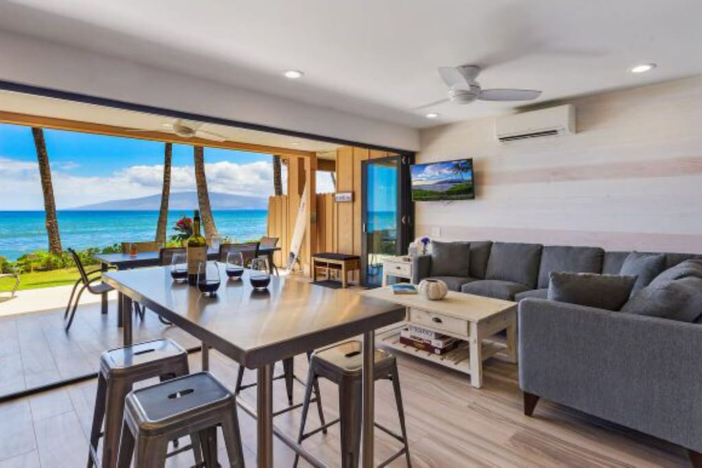 Newly remodeled ocean view great room