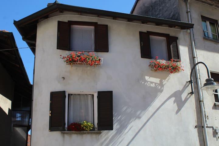 Casa Marconi - Vista frontale