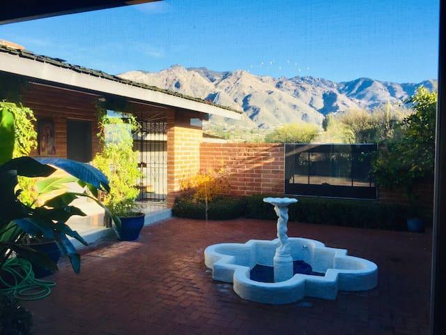 Shangri-La Garden, Stately Mid Century Mod Villa