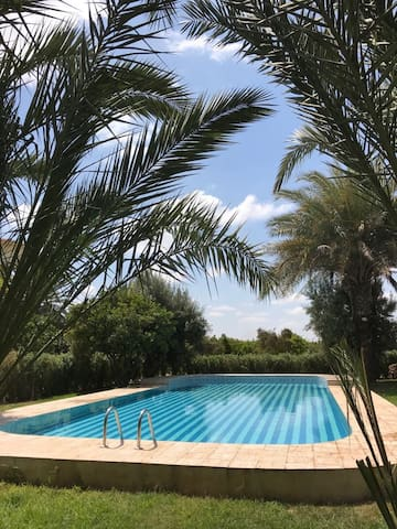 Villa confort avec piscine privée sans vis à vis