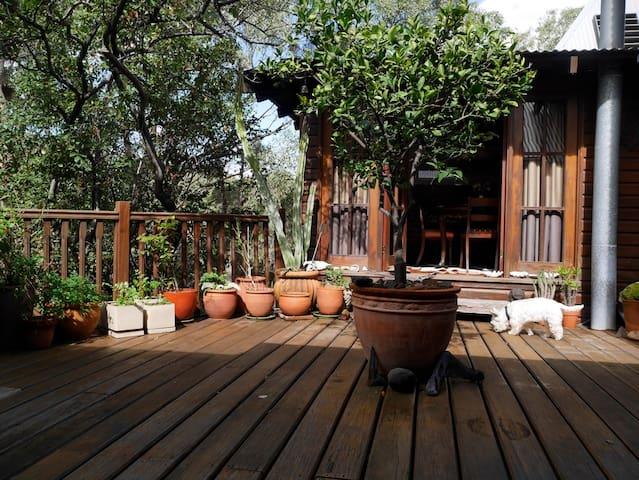 Walkers' paradise: en suite king private lounge