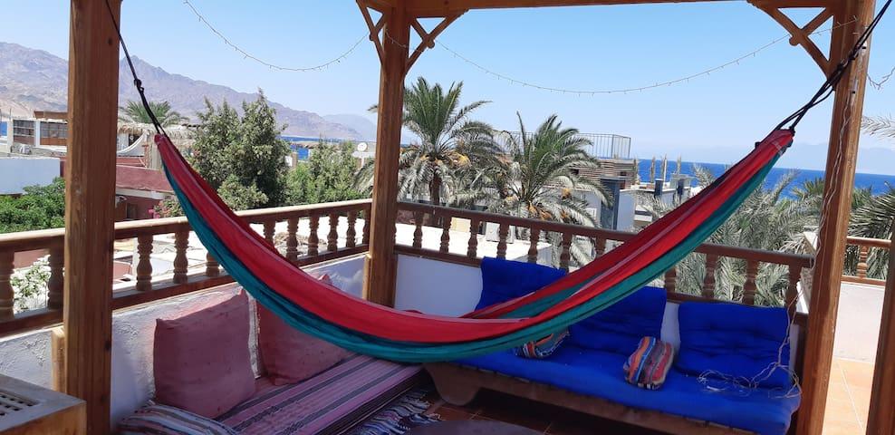 Sunny Beach Paradise! Private room and bath, A/C