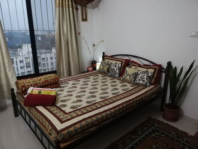 Two Cosy Rooms Admist Greenery