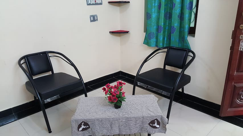 Deluxe rooms near Auroville - Pondy - Bommayapalayam - Appartement
