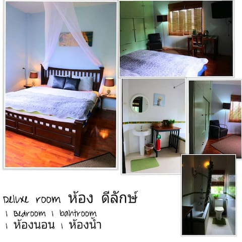 Deluxe room in a home stay in Bankhai, Rayong