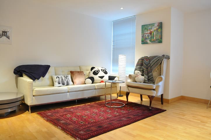 Lovely Central Modern 1 Bed Apt in Best Location