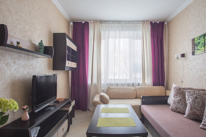 Great Flat near the Center. Rest & Work in Moscow