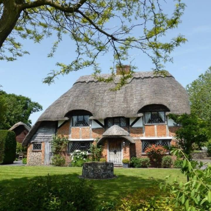 Tudor Thatch Cottage in Beautiful East Hampshire