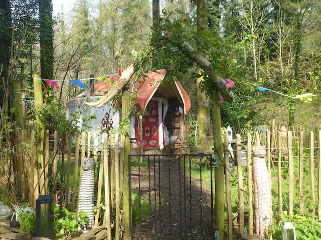 """Bunnies Yurt""a romantic peaceful all year retreat - tavistock - Jurta"