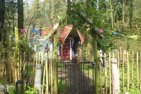 """Bunnies Yurt""a romantic peaceful all year retreat - tavistock - Iurta"