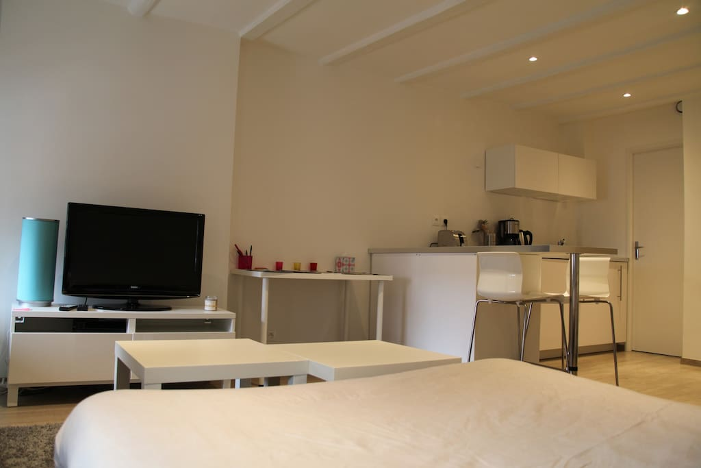 studio le cosy historic center flats for rent in annecy rh ne alpes france. Black Bedroom Furniture Sets. Home Design Ideas