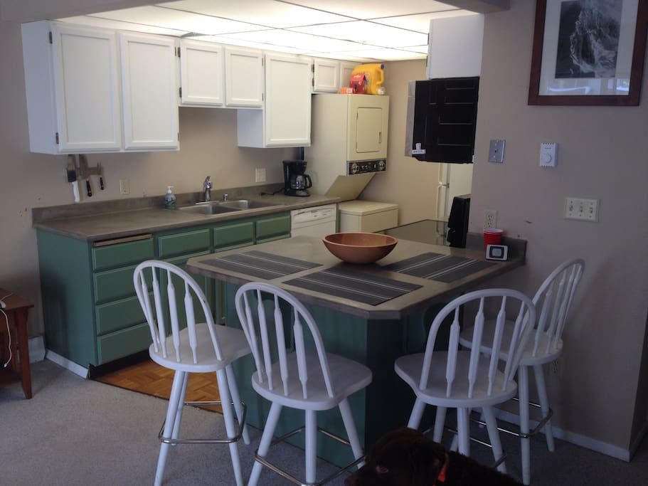 Kitchen and eating space. All appliances (except washer/dryer) were updated in 2014/15