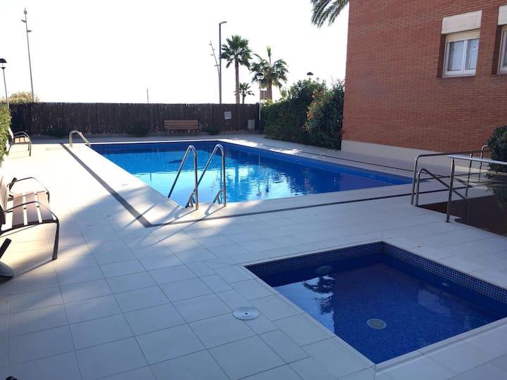 Apartamento ideal para vacaciones en Castelldefels