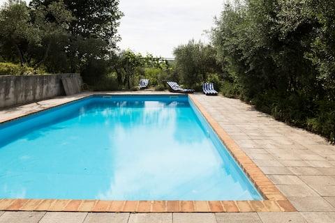 Romantic loft apartment with pool