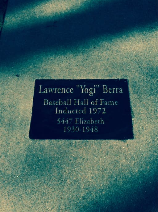 Yogi's Plaque