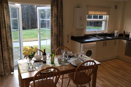 Villa 17, Queen's Court, Banchory in scenic area. - Banchory - Willa