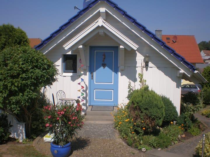 schöne 1ZW in Schwarzenfels (Sinntal) m Burgblick