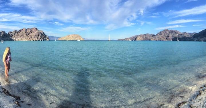 Beach front Casita in Baja