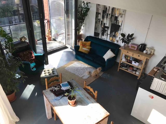Beautiful Canal Side Studio Flat, Hackney Wick