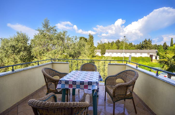 One bedroom Apartment, in Umag, Terrace