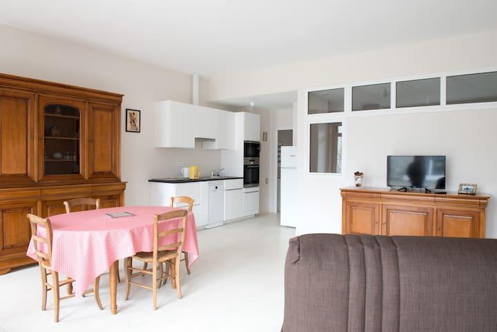 Appart 55m2 à Vitré (R de Fougères) - Vitré - Apartmen