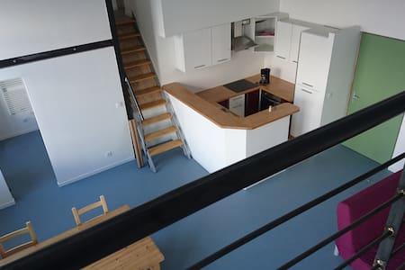 Loft lumineux, refait à neuf, 3 chambres, 3 sdb - Saint-Étienne - Loft
