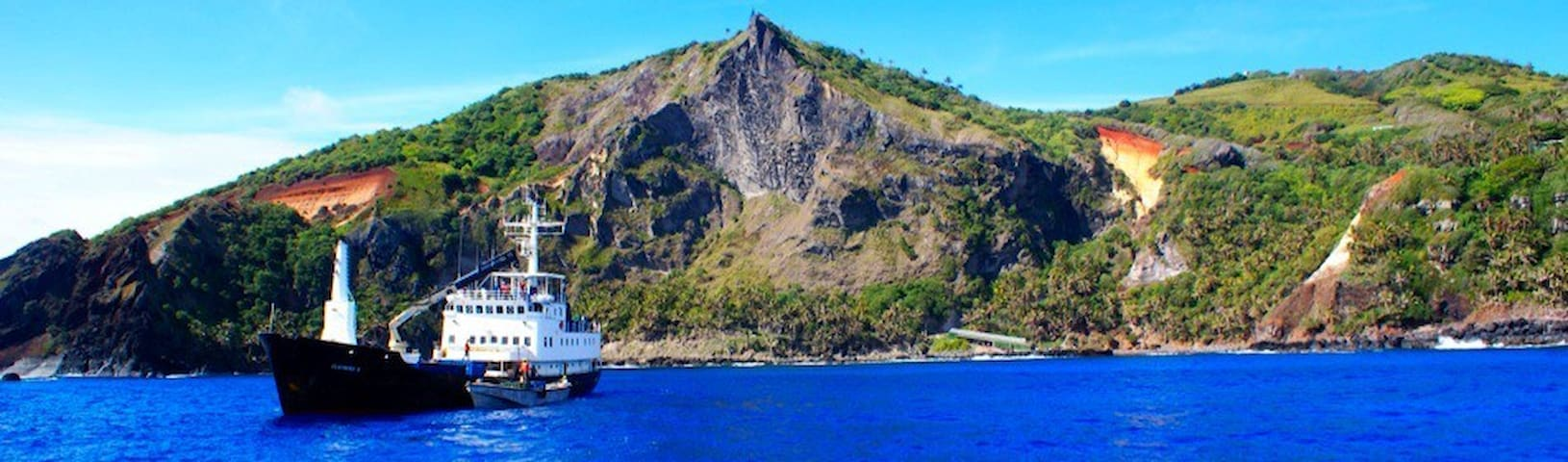 Getting to Pitcairn is a highlight for all and a significant part of the total adventure. It includes two nights aboard a working cargo ship that visits Pitcairn only a handful of times throughout the year. The cargo ship departs from French Polynesia which means you need to make your way to Papeete, Tahiti and then fly 4.5 hours from Papeete to Mangareva where you'll catch the freighter.