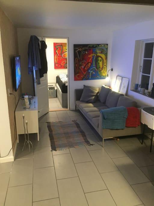 Hyggekrogen i stuen