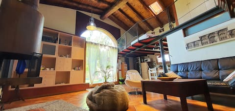 Can Bachs' Old barn farmhouse - Loft duplex