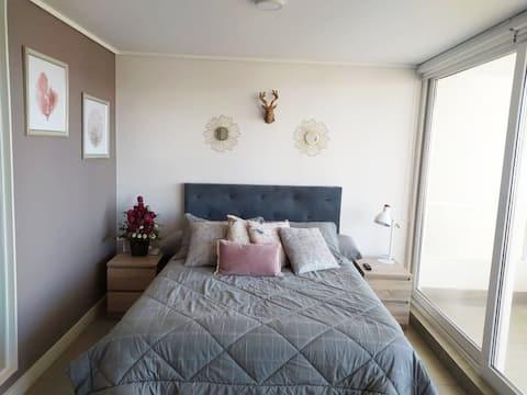 Beautifull apartment  in Concón / Dunas de Montemar