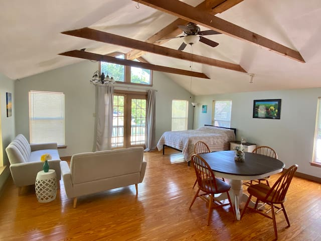 Private and Spacious Guesthouse in Alamo Heights