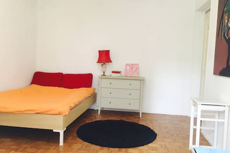 Grande et jolie chambre - Pully