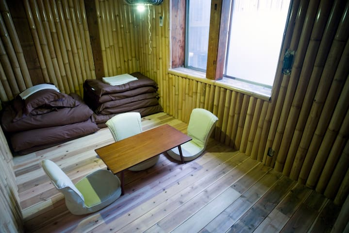 Private Family room (Japanese futon style) - Nagano - Haus