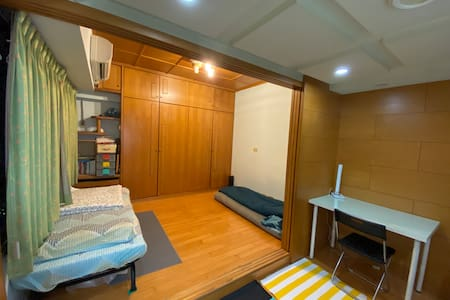 小和室迷你共享空間 《限女》 Wooden Tiny Sharing Space《female》
