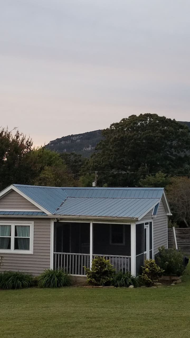 Cottage at the foot of Hanging Rock