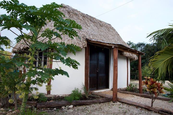 Mayan house in Mahahual - Mahahual - Ev