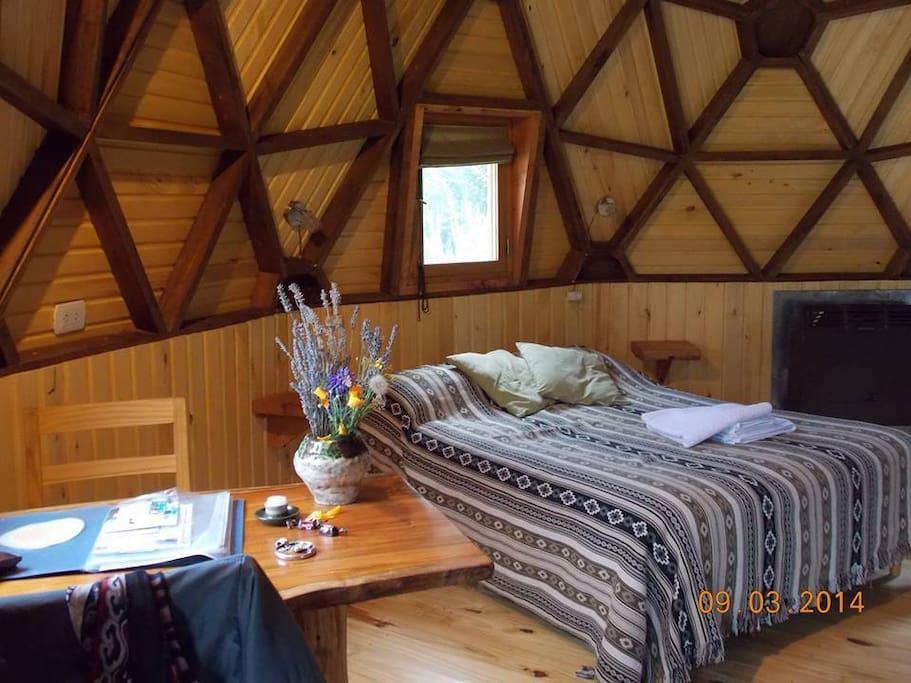 Interior en el Domo