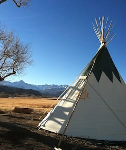 Comfy, Cozy TIPI with Amazing Views!!!! - Ridgway - Tipi