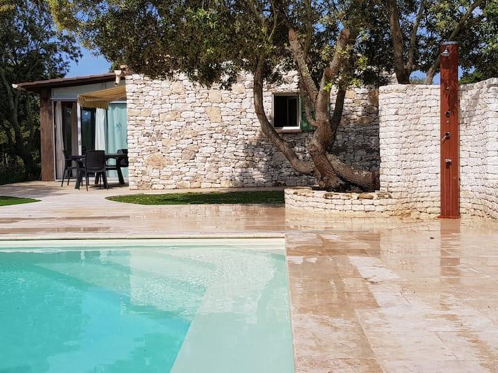 Charmante maison piscine chauffee bonifacio