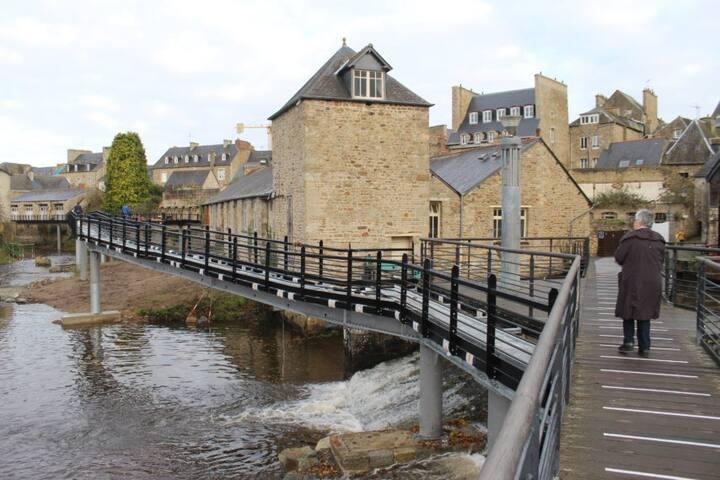 la passerelle de Guingamp