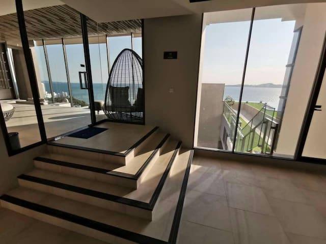 andromeda一卧套房 独立卫生间 有厨房 靠近海滩 有海景 看日出 日落 风景极佳