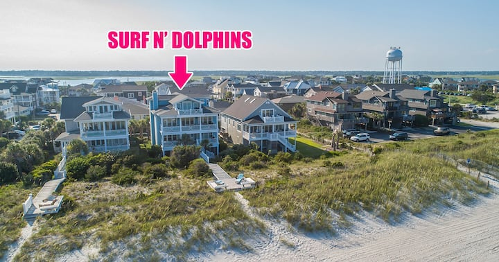 Incredible Oceanfront property - Private Beach access with Private Dune Deck